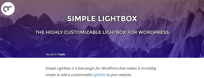 Plugin: Simple Lightbox - Wpfriendly.it