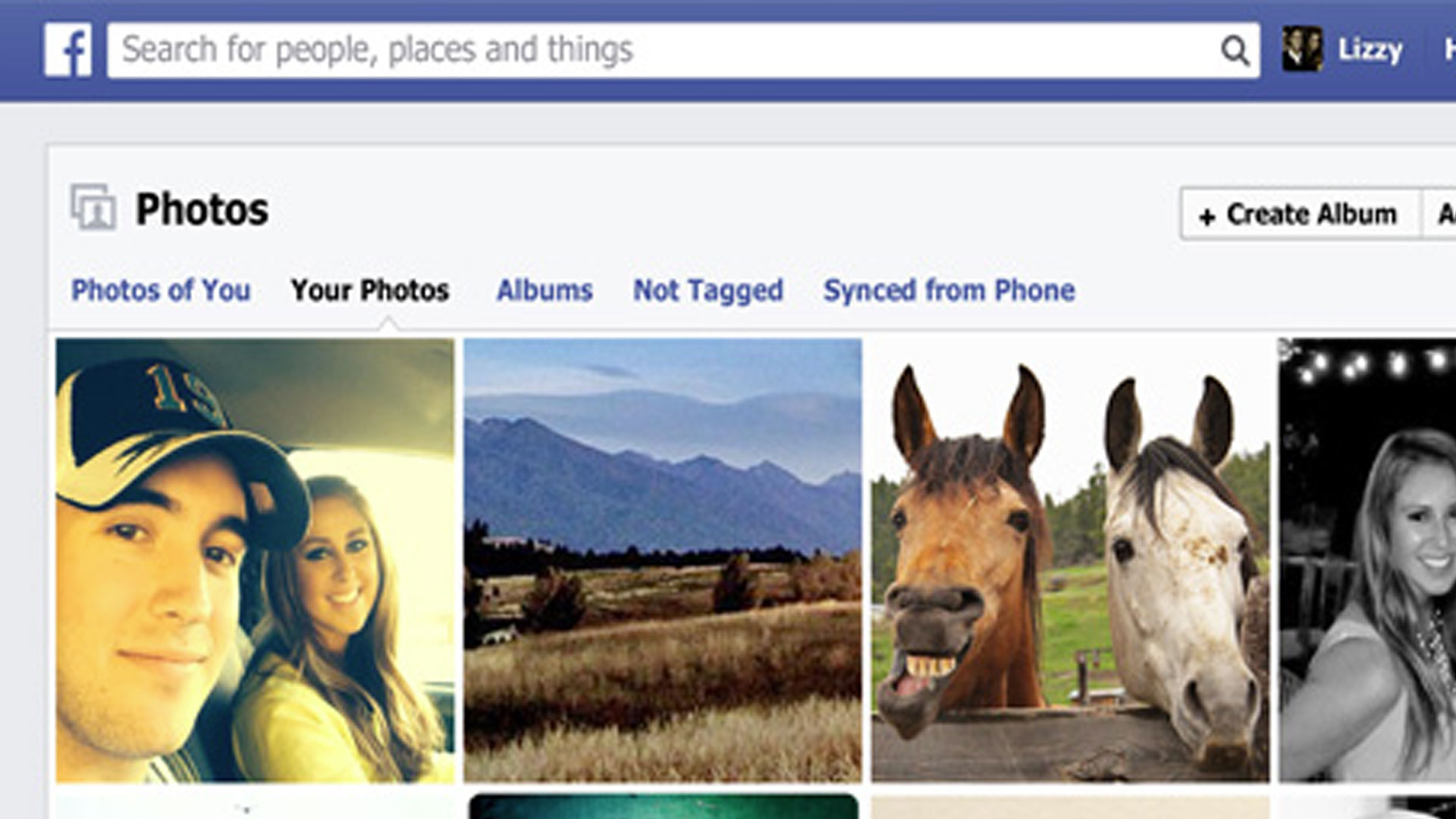 Integrare un album foto di Facebook in un sito WordPress