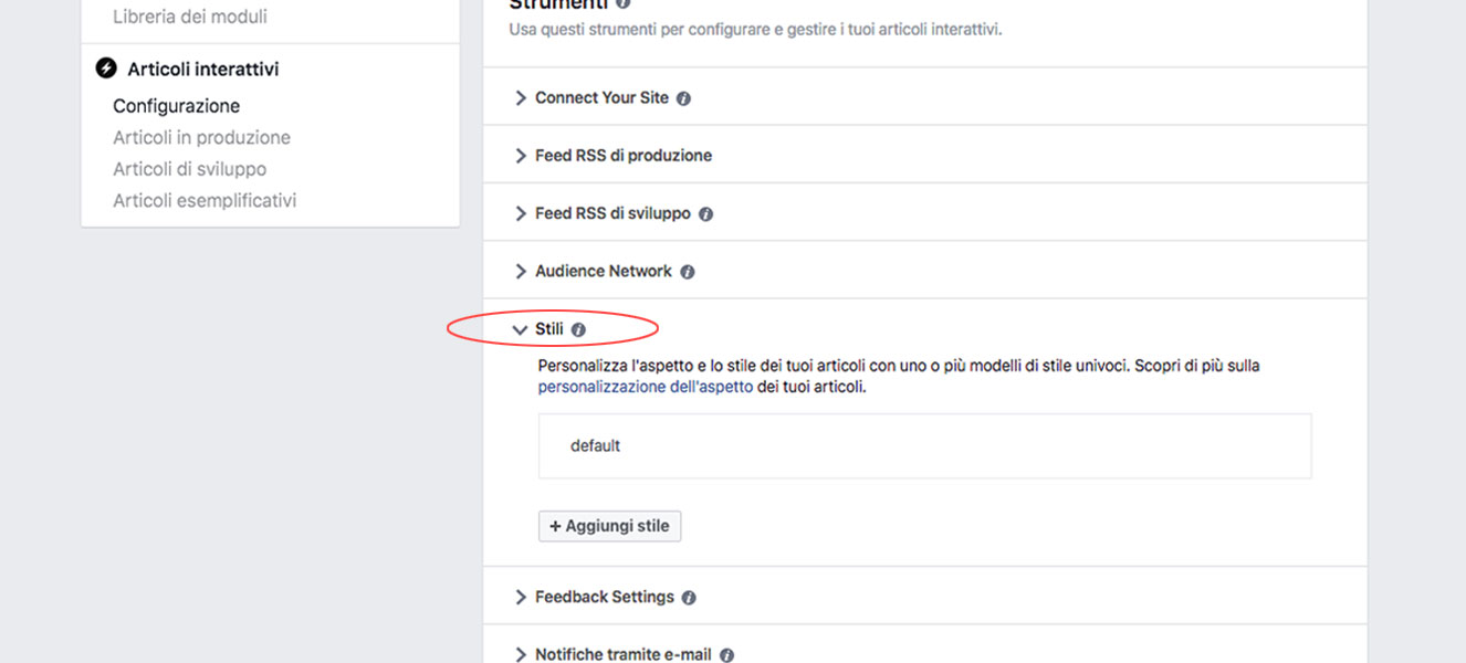 Integrare Instant Articles di Facebook su sito WordPress